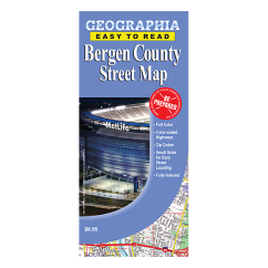 Bergen County (NJ) Street Map