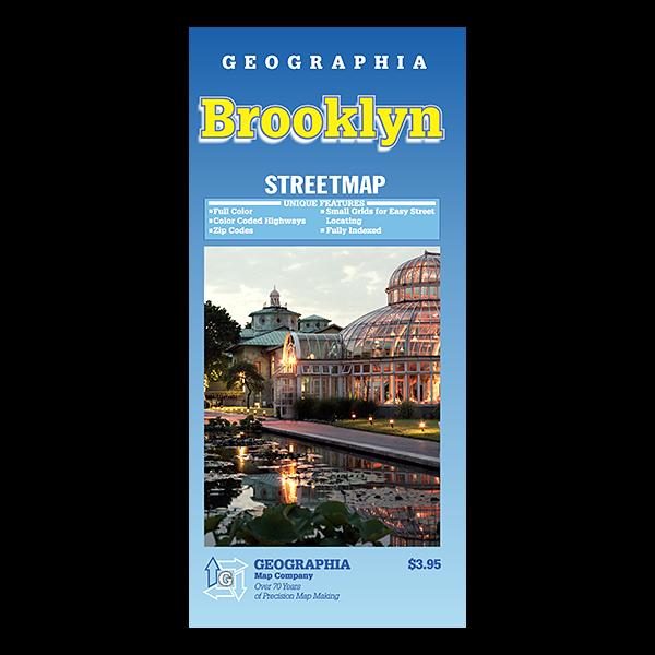 Brooklyn (NY) Street Map 1