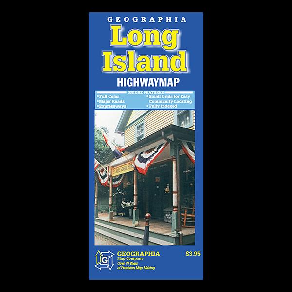 Long Island (NY) Highway Map  1