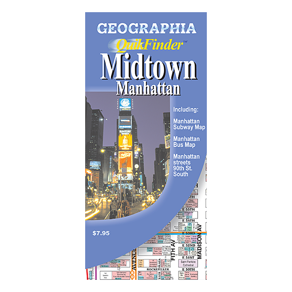 Midtown Manhattan (NY) Quikfinder  1