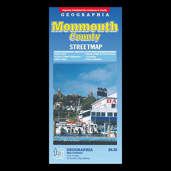 Monmouth County (NJ) Street Map  1