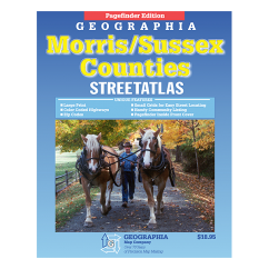 Morris County and Sussex County (NJ) Street Atlas