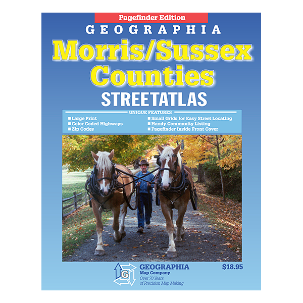 Morris County and Sussex County (NJ) Street Atlas  1