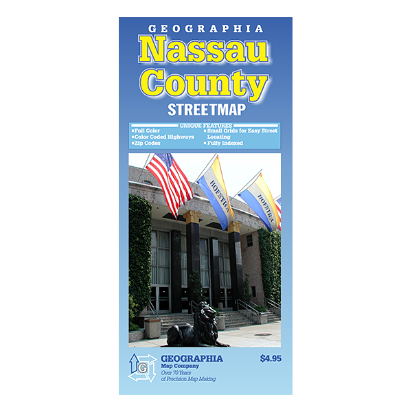 Nassau County (NY) Street Map  1