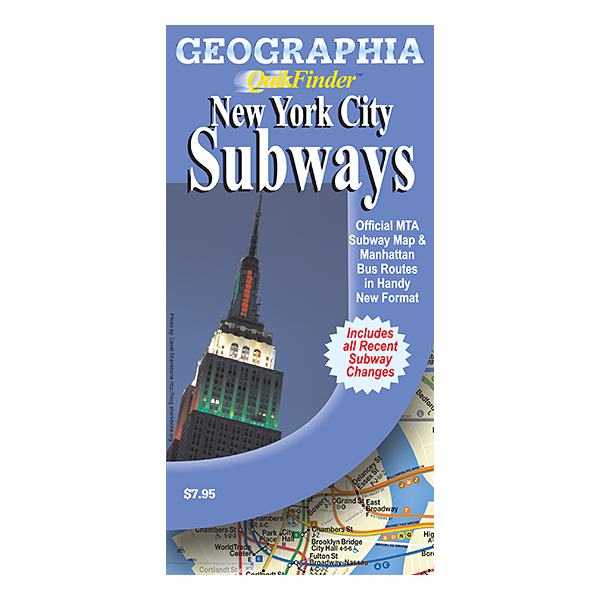 New York City Subway Quikfinder 1