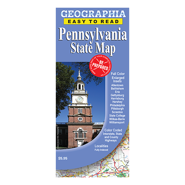 Pennsylvania State Map  1