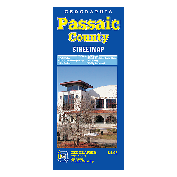 Passaic County (NJ) Street Map  1
