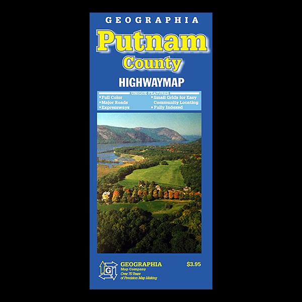 Putnam County (NY) Street Map  1