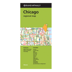 Rand McNally - Chicago & Vicinity (IL) Street Map