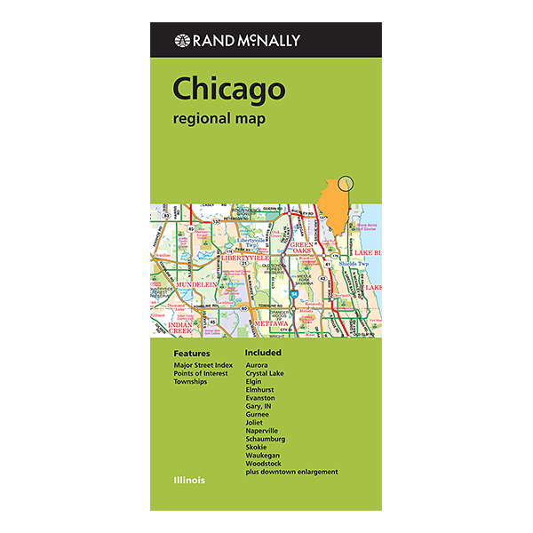 Rand McNally – Chicago & Vicinity (IL) Street Map 1