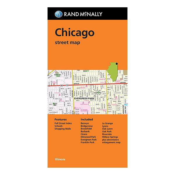 Rand McNally – Chicago (IL) Street Map 1