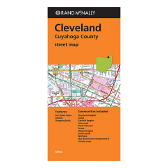 Rand McNally - Cleveland and Cuyahoga County (OH) Street Map