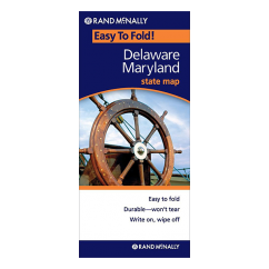 Rand McNally - Delaware and Maryland States Easyfinder