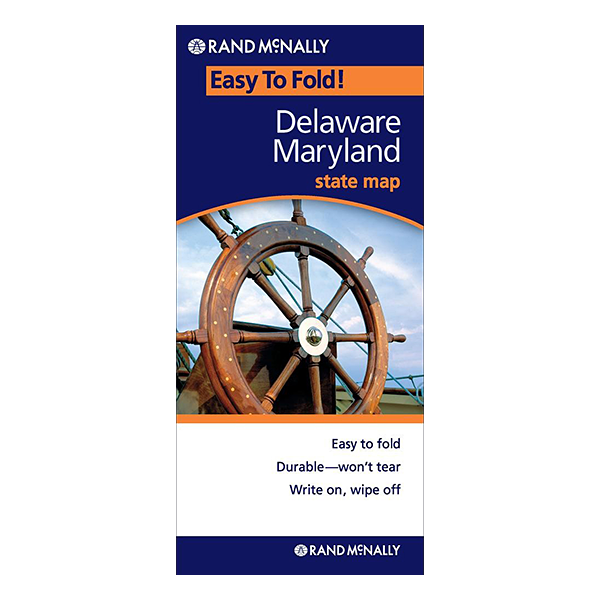 Rand McNally – Delaware and Maryland States Easyfinder 1