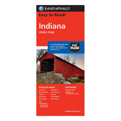 Rand McNally - Indiana States Map