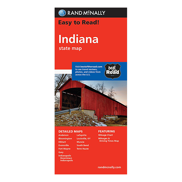 Rand McNally – Indiana States Map 1