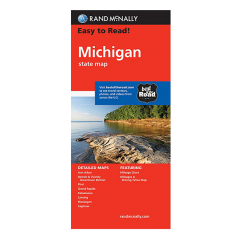 Rand McNally - Michigan States Map