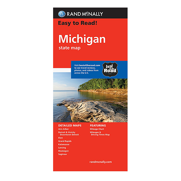 Rand McNally – Michigan States Map 1