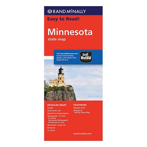 Rand McNally – Minnesota States Map 1