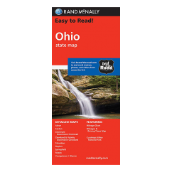 Rand McNally - Ohio State Map