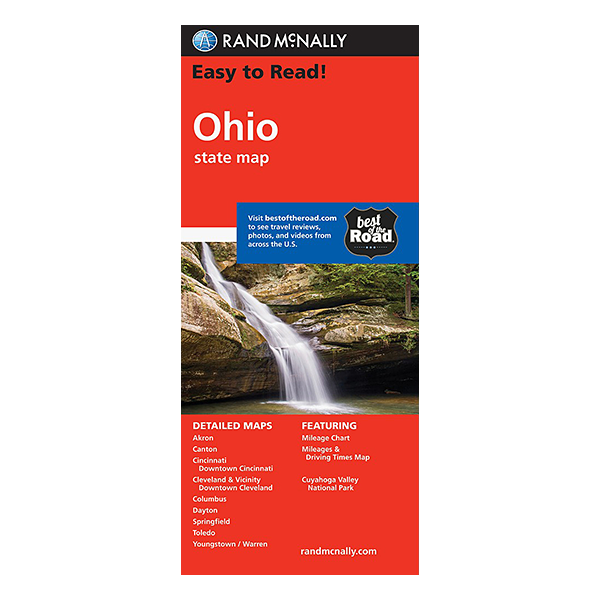 Rand McNally – Ohio State Map 1