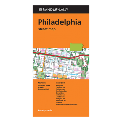 Rand McNally - Philadelphia (PA) Street Map