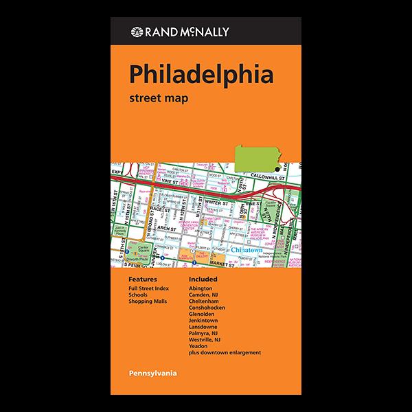 Rand McNally – Philadelphia (PA) Street Map 1