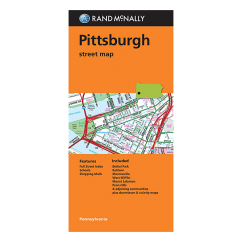 Rand McNally - Pittsburgh (PA) Street Map