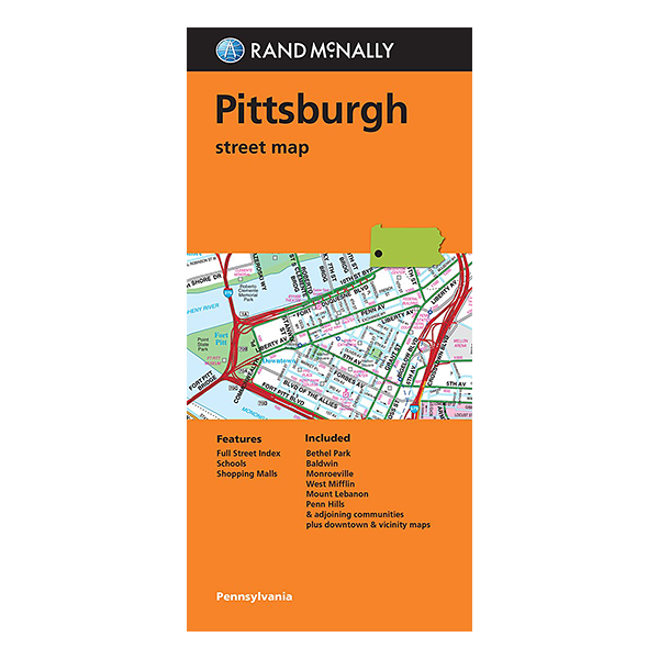 Rand McNally – Pittsburgh (PA) Street Map 1