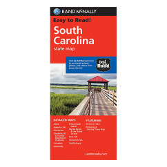 Rand McNally - South Carolina State Map