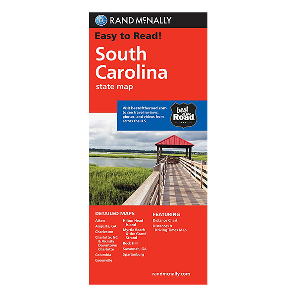 Rand McNally – South Carolina State Map 1