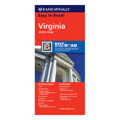 Rand McNally - Virginia State Map