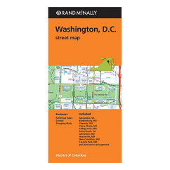 Rand McNally - Washington DC Street Map