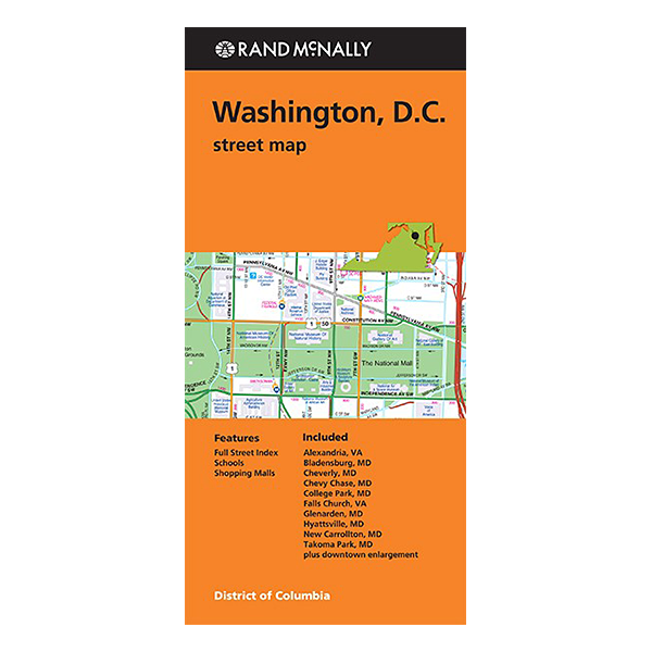Rand McNally – Washington DC Street Map 1