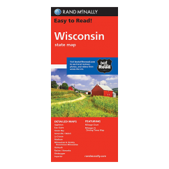 Rand McNally - Wisconsin State Map