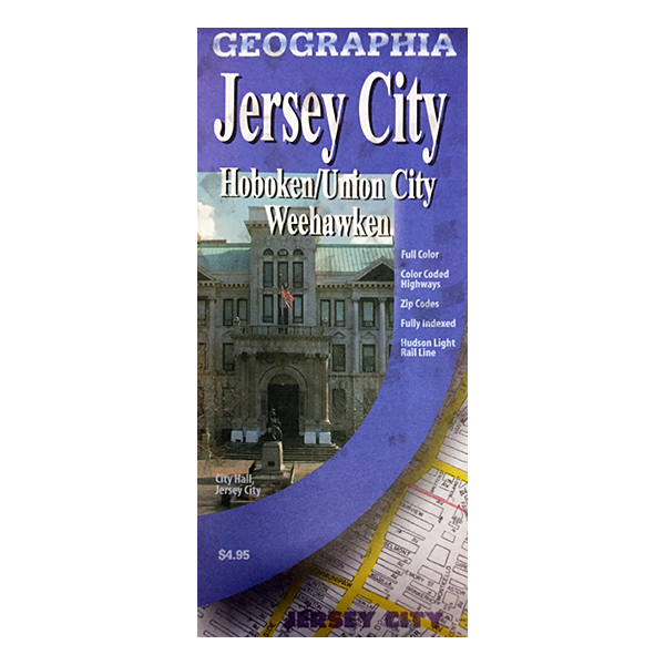 Jersey City (NJ) City Map