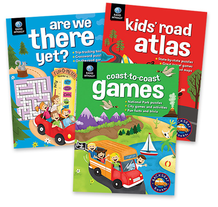 Rand McNally's Backseat Books® series for kids