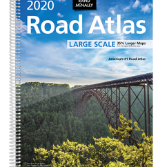 Rand McNally Road Atlas Large Scale 2020