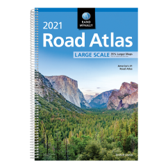 2021 Rand McNally Road Atlas Large Scale