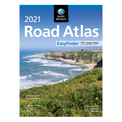 2021 Rand McNally Road Atlas EasyFinder
