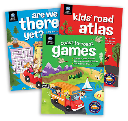 Rand McNally's Backseat Books® series for kids?