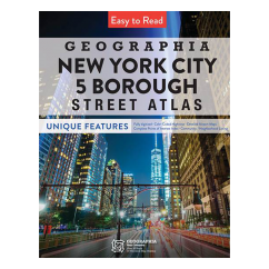 NYC 5 Boroughs Street Atlas 2020