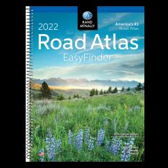 Rand McNally Road Atlas Easy Finder 2022