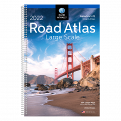 Rand McNally Road Atlas Large Scale 2022